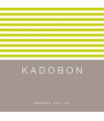 Kadobon Lime Stripes (12 st.)