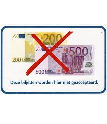 Sticker papiergeld